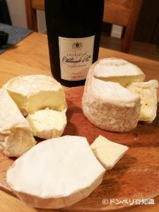 シャンパンとチーズ