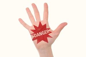 危険の文字