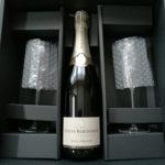 """【シャンパン&ギフト購入レポ】""""ルイ・ロデレール""""、シャンパン&グラスのギフトセット!"""