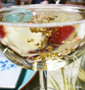 金箔入りスパークリングワイン